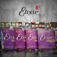 Senar Gitar Akustik Elixir .013-056 - Bronze - Nanoweb 11102