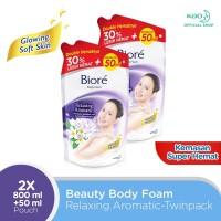Biore Body Foam Relaxing 800 ML Twinpack