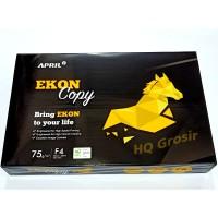 PROMO!! Kertas HVS F4 75gsm EKON Copy(Produk PaperOne) - 1 Rim