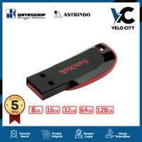 FlashDisk Cruzer Blade 8GB USB FD CZ50 8 GB Flash Disk