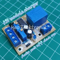 kit charger aki auto on off 12v - charger accu