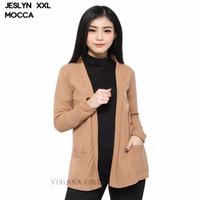 outer outerwear cardigan cardy polos jumbo big size hijabers saku