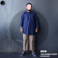 Baju Koko Pria Lengan Panjang New Taluak Balango Rosal - Dongker, M