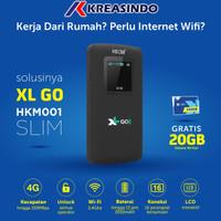HKM 001 Mifi Router Modem Wifi 4G Free XL GO IZI 20Gb Unlock