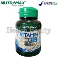 Nutrimax Vitamin D3 400 IU 120 Tabs - Menjaga Kesehatan Tulang Vit D 3