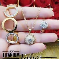titanium set perhiasan 21a16