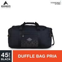 Eiger 1989 Borneo Duffle Bag - Black 45L