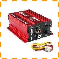 NEW VD Kinter Amplifier Speaker 2 channel 500W - MA150 - Red