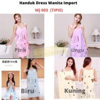 Baju Handuk Dress Kimono Mandi Bahan Halus Dan Lembut ( WJ 03 )