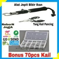 FISH LIP GRIP ALAT JEPIT BIBIR MULUT IKAN + TANG PANCING BONUS KAIL 70