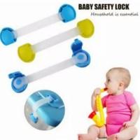 PENGAMAN LACI ELASTIS PANJANG BABY SAFETY LOCK PENGAMAN LACI LEMARI