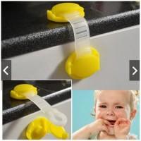 PENGAMAN LACI ELASTIS MODEL PENDEK BABY SAFETY LOCK PENGAMAN PENDEK