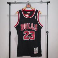 Jersey Basket Swingman NBA Chicago Bulls Michael Jordan black 3
