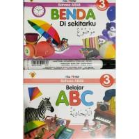 Boardbook Aku pintar bahasa Arab 3 bahasa Inggris Arab Indonesia
