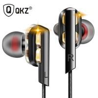QKZ AK4 In-Ear Earphones Bass HIFI Headset with Microphone - Black