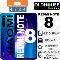 Xiaomi Redmi Note 8 4/64 4GB 64GB Garansi Resmi 1 Tahun