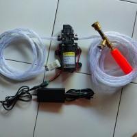 alat cuci steam mini portabel motor mobil AC cuci screen sablon