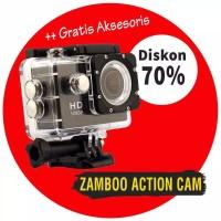 Sport cam anti air kamera vloger buat vlog 1080P 18MP terlaris