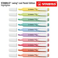 STABILO SET 10 - Swing Cool Pastel Edition All / Highlighter 10 pcs
