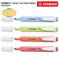 STABILO SET 4 - Swing Cool Pastel Edition / Highlighter Original 4 pcs