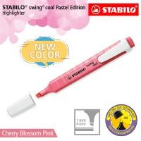 STABILO Swing Cool Pastel Cherry Blossom Pink / Highlighter Warna Pink