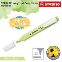 STABILO Swing Cool Pastel Dash of Lime /Highlighter Warna Kuning Lemon