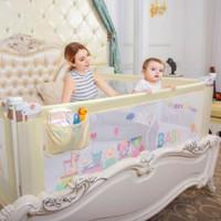 Baby Bedrail Bedguard Pembatas Pengaman Pagar Kasur Ranjang Anak Bayi