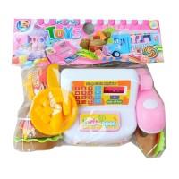 Mainan Mini Cash Register Burger LK15 - Mainan Kasir Kasiran Anak