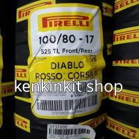 BAN PIRELLI 100/80 -17 DIABLO ROSSO CORSA II - SOFT COMPOUND RACING