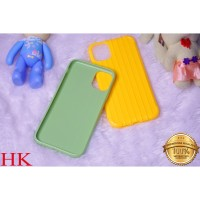 Iphone 7G+ | 9G/ XR TPU Line Case Koper Polos Korean Candy
