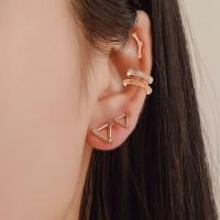 anting set 1 sisi 5 pcs geometric five piece earrings jan202