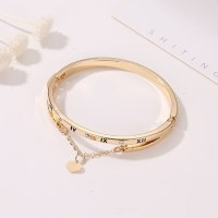 gelang fashion double layer roman love tassel bracelet jge089
