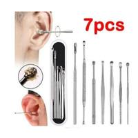 7 pcs alat pembersih kotoran telinga /kuping