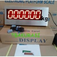 External display timbangan external display pemancingan galatama 3inch