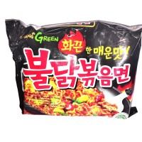 SAMYANG GREEN CHICKEN RAMEN HOT 140GR