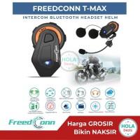 FREEDCONN TMAX INTERCOM BLUETOOTH HELM T MAX UP TO 6 RIDERS ORIGINAL