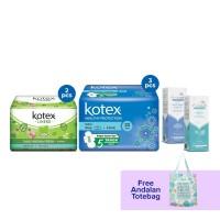 Special Package Kotex x Andalan Free Tote Bag