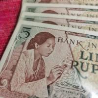 Uang Kuno Rp 5 Seri Pekerja Gress