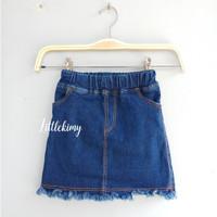 Amora skirt / rok jeans anak / rok anak perempuan / rok jeans