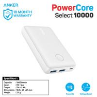 Powerbank Anker Powercore Select 10000mAh Black - A1223 - Putih