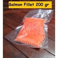Ikan Salmon Fillet Beku uk 200 gr