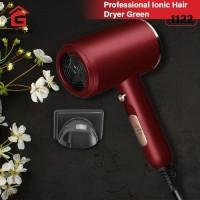 GM Bear Alat Pengering Rambut Portable Red 1122- Hair Dryer