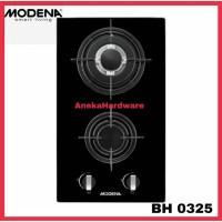 Kompor Tanam Modena Liscio BH 0325 / Kompor Gas 2 Tungku