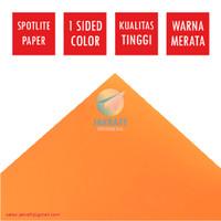 Kertas Karton Asturo Warna Orange (60 x 40 cm) Scotlite