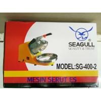 Serutan Es Ice Crusher Mesin Serut Es Seagull SG-400-2 Serutan Es List