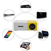 Proyektor Projector Infocus Mini Projektor Portable Bioskop Ori