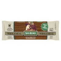 SAN REMO WholeMeal 130 Pasta High Fibre 500g - SANREMO Gandum Serat