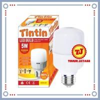 Lampu LED Jumbo Capsule Lampu LED Tabung 5 Watt 5W 5Watt 5 W Termurah