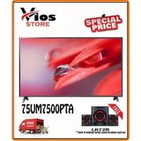 LG TV 75 Inch Smart TV 4K 75UM7500PTA 75UM7500 75UM75 75UM750 PROMO!!!