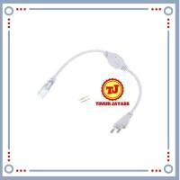 Socket / Soket Colokan Jack Lampu Led Strip Selang SMD 5050 220 Volt